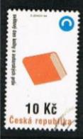 REP. CECA (CZECH REPUBLIC) - SG 191 - 1998 WORLD BOOK & COPYRIGHT DAY -   USED - República Checa