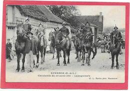 28 EPERNON - Cavalcade Avril 1911 - Lansquenets - Epernon