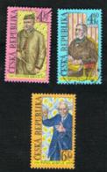 REP. CECA (CZECH REPUBLIC) - SG 196.198 - 1998 ANNIVERSARIES (COMPLET SET OF 3) -   USED - República Checa