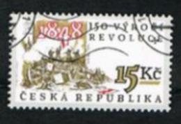REP. CECA (CZECH REPUBLIC) - SG 199  - 1998 1848 REVOLUTION ANNIVERSARY -   USED - República Checa