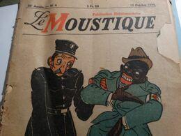 Le Moustique Du 15 Octobre 1944.Nombreux Articles...caricature De Leon Degrelle... - Other