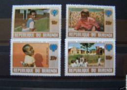 Burundi 1979 OCB 839-42 *** MNH Cote 10 Euro Année De L' Enfant - Burundi