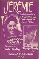 """Jérémie""(Spiel Noch Einmal Für Mich, Habanero) Calypso - Caterina Valente - René-Charle - Musica & Strumenti"