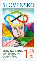 Slovakia 2019, International Mathematics Olympiad, MNH Single Stamp - Slovacchia