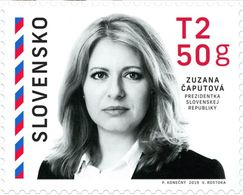 Slovakia 2019, President Of Slovak Republic Zuzana Čaputová, MNH Single Stamp - Slovacchia