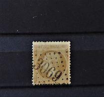 07 - 20 - France N°21 Oblitéré GC 3069 Quingey - Doubs - 1862 Napoléon III
