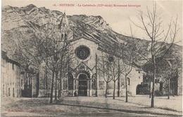 04 - SISTERON La Cathédrale Eglise Monument Historique - Sisteron