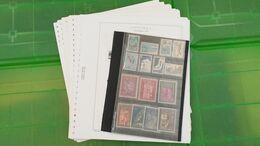 Lot N° TH 498  ANDORRE Francais Et Espagnole , Debut De Collection Sur Page D'albums Neufs * * - Collezioni (in Album)