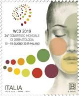 Italia - 2019 - Usato/used - Dermatologia - 6. 1946-.. Repubblica