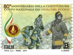 Italia - 2019 - Usato/used - Vigili Del Fuoco - 6. 1946-.. Repubblica