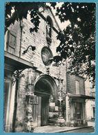 MANOSQUE - Façade De L'Eglise Notre Dame - Circulé 1964 - Manosque