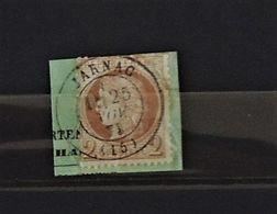 07 - 20 - France N° 51 Sur Fragment Oblitéré Jarnac - 1871-1875 Cérès