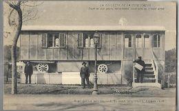 La Roulotte  De La Cote D'Azur  Seule  En Son Genre  Entièrement  Construite En Ciment Armé  CPA 1924 - Architectuur
