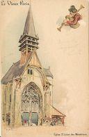 Le Vieux PARIS Saint Julien Des Ménétriers A La Fermière - Eglises