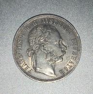 1 Florin Franz Joseph I 1877 Argent TTB - Autriche
