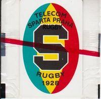 "10/ Czechoslovakia; C9. SL4, CN: 40100, On Wrapper Text ""RUGBY"" (smaller) - Tchécoslovaquie"