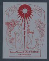 Ex-libris De J. Bologa. Esqueleto. Médico. Ex-libris By J. Bologa. Skeleton. Doctor. - Bookplates