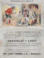 CHROMOS. Chocolat LOUIT (Bordeaux) Tomber Dans Le Pétrin...S2843 - Chocolate
