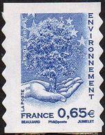 Autoadhésif(s) De France N°  181 ** Ou 4203 - Valeur De L'Europe, L'environnement, Le Bleu - France