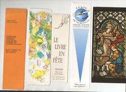 Lot De 5 Marque-pages   Récents  (PPP23584) - Old Paper
