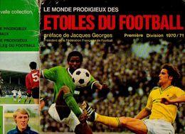 Album Chromo - 063 - FOOTBALL 70 En Images (1970) Avec Autographes Des Joueurs Voir Photo - Incomplet - Très Bon état - Soccer