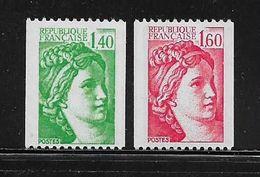 FRANCE  ( FR8 - 94 )  1981  N° YVERT ET TELLIER  N° 2157/2158   N** - Nuevos