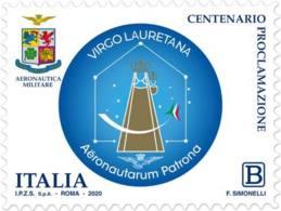 Italia - 2020 - Usato/used - Madonna Di Loreto Patrona Degli Aviatori - 6. 1946-.. Repubblica