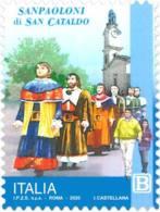 Italia - 2020 - Usato/used - Sanpaoloni Di San Cataldo - 6. 1946-.. Repubblica