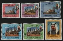 Qatar 1992 - Mi-Nr. 981-986 ** - MNH - Scheich Khalifa - Qatar