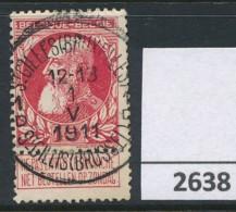 Nr  74  Met Stempel  St-Gilles (Bruxelles) 1 D - 1905 Barbas Largas