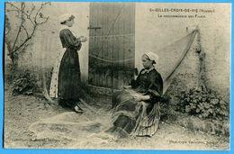 85 - Vendée - St Gilles Croix De Vie La Raccommodage Des Filets (N1294) - Saint Gilles Croix De Vie