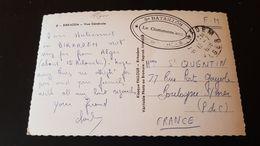 Biskadem - Poste Aux Armees - FM Franchise Militaire - Algeria (1924-1962)