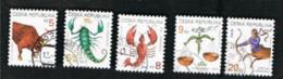REP. CECA (CZECH REPUBLIC) - SG 210.217  - 1999 ZODIAC  -   USED - República Checa