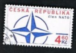 REP. CECA (CZECH REPUBLIC) - SG 232  - 1999 NATO ACCESSION  -   USED - República Checa
