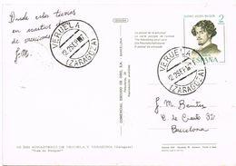 37283. Postal VERUELA (Zaragoza) 1967. Ruta De BECQUER - 1931-Heute: 2. Rep. - ... Juan Carlos I