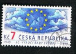 REP. CECA (CZECH REPUBLIC) - SG 233  - 1999 EUROPE COUNCIL ANNIVERSARY  -   USED - República Checa