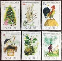 Nauru 2005 Christmas Hans Christian Andersen Birds Frogs MNH - Nauru