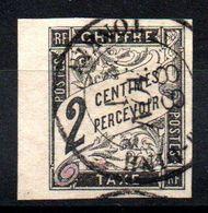 YT Taxe N° 2 Avec Cachet NAN-DINH - TONKIN - Portomarken