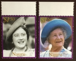 Nauru 2002 Queen Mother MNH - Nauru