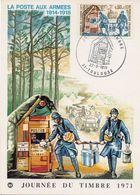 TOULOUSE (HAUTE GARONNE) : JOURNEE DU TIMBRE 1971 Oblitération Temporaire Sur CARTE POSTALE - Briefmarken