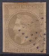 COLONIES GENERALES : EMPIRE 30c N° 9 OBLITERATION LOSANGE DE POINTS - COTE 70 € - Napoleon III