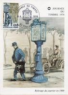 TOULOUSE (HAUTE GARONNE) : JOURNEE DU TIMBRE 1978 Oblitération Temporaire Sur CARTE POSTALE - Briefmarken