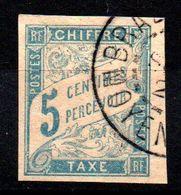 YT Taxe N° 18 Avec Cachet MOYEN-CONGO - Postage Due