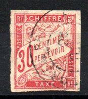 YT Taxe N° 22 Avec Cachet Rond - Postage Due