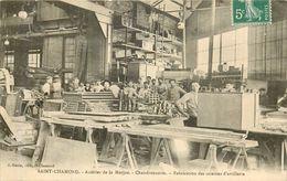SAINT CHAMOND Acieries De La Marine Fabrication Des Caissons D'artillerie - Saint Chamond