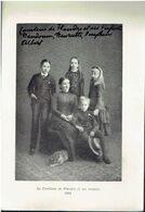 Photo Sur Papier Glacé:    LA COMTESSE DE FLANDRE ET SES ENFANTS.  1885. - Photographie