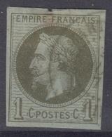 COLONIES GENERALES : EMPIRE 1c N° 7 OBLITERATION ST PIERRE MARTINIQUE - COTE 90 € - Napoleon III