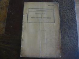 Lot De 3 Livrets US WW2 Traitant De La Carburation Des Moteurs, G.I, D-day, Overlord, Normandie - Documenti