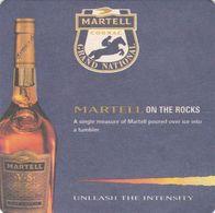 BEERMAT - MARTELL COGNAC (FRANCE) - GRAND NATIONAL - (Cat No 060) - Bierviltjes
