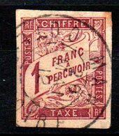 YT Taxe N° 26 Avec Cachet MAN - COTE D'IVOIRE - Postage Due